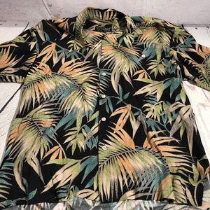 "MEN""S TORI RICHARD hawaiian button shirt"